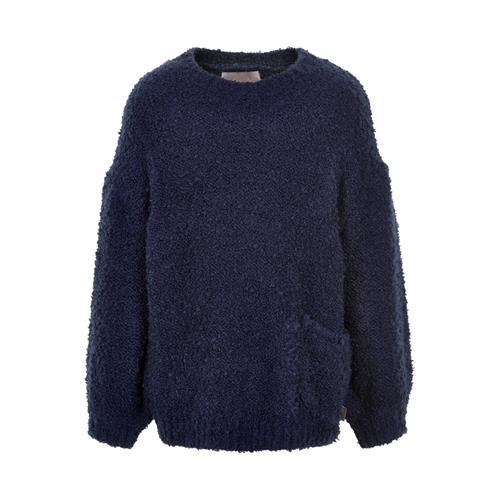 Pullover Boucle, navy night - Neuleet - creamie820854 - 1