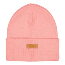 Basic knitted beanie, SOFT CORAL -  - BKB1805 - 1