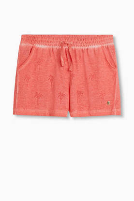 Palm shorts, coral -  - Esprit26135 - 1