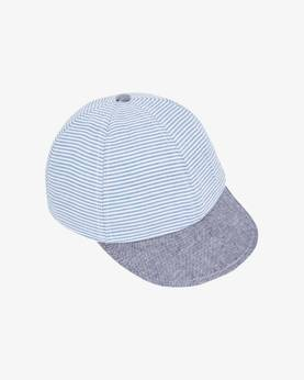 Cap, denim/white -  - melton510024145 - 1