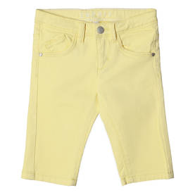Bermudas, light yellow -  - espritrj22185 - 1