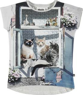 City cats T-shirt, Ragnhilde -  - 2W18A225 - 1