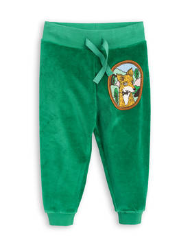 FOX VELOUR SWEATPANTS, green -  - 1773015075 - 1