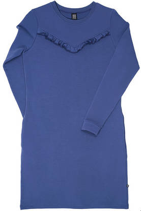 Ruffle dress ADULT, blue -  - kaikoaw18drop25 - 1