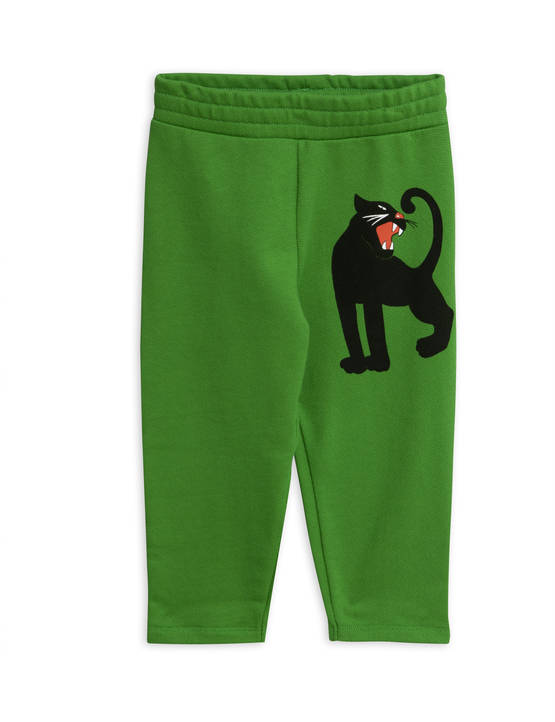 Panther sp sweatpants, green - Housut - 1923015175 - 1
