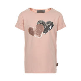Hear sequins T-shirt, rose smoke -  - creamie8209865506 - 1