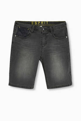 Shorts, light grey melange -  - espritrj26086 - 1