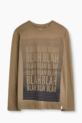 Blah shirt, army green -  - Espritrk10006 - 1