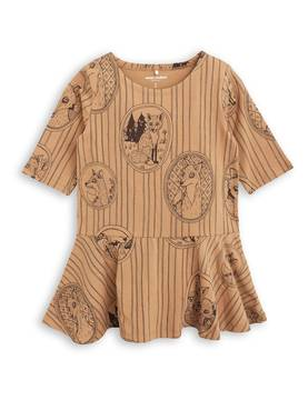 FOX FAMILY DRESS, brown -  - 1775012316 - 1