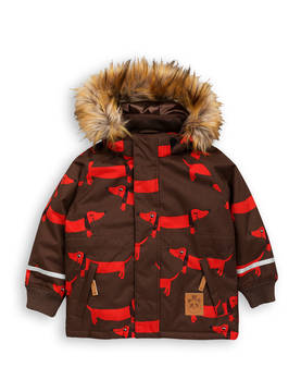 K2 DOG PARKA, brown -  - 1771010816 - 1