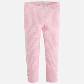 Knit leggings, chewingum -  - 6G10284036 - 1