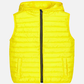 Padded vest, canary -  - mayss17b046 - 1