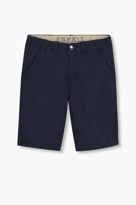 Shorts, navy blue -  - espritrj26156 - 1