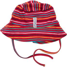 Sunny hat, multistriped red -  - SS15GM123151-6 - 1