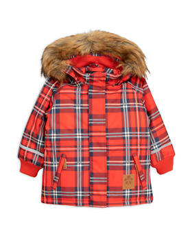 K2 check parka, red -  - 1871010867 - 1