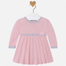 Knit dress, old pink -  - 2G2833087 - 1