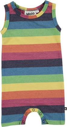 Filures ss bodysuit, Rainbow Stripe -  - moloss18a00117 - 1