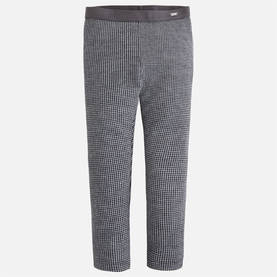 Houndstooth leggings, charcoal -  - 6G4711087 - 1