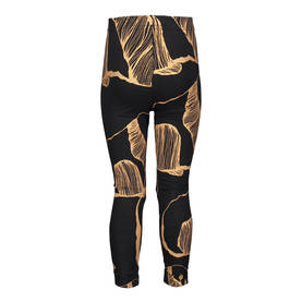 Panda Art leggins, black / bronze -  - metsolaaw17a7 - 1