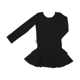 Frilla dress, BLACK -  - gugguuaw1708 - 1