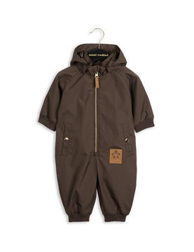 PICO BABY OVERALL, dk.brown -  - 1671012118 - 1