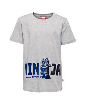 Thomas 418 t-shirt s/s, grey -  - lego20188 - 1