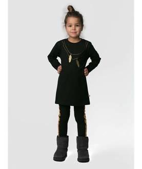 Gold feather tunic -  - NST52499 - 1
