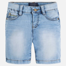 Knitted denim shorts -  - mayss1749 - 1