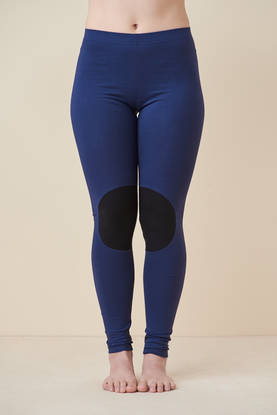 Patch leggings ADULT, swell blue/black -  - 180433105609 - 1