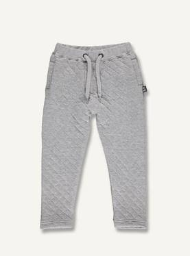 Kids college pants, grey melange -  - ubang-aw17aa - 1