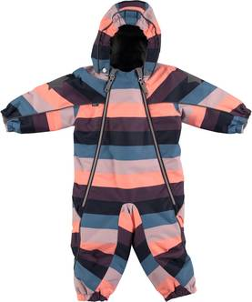 Pyxis snowsuit, girly rainbow -  - 5W16N101a - 1