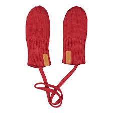 Knitted baby mittens, SALSA -  - kcm1802B - 1