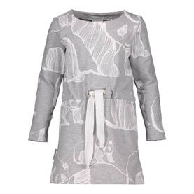 Panda Art dress, grey/white -  - metsolaaw17b01b - 1