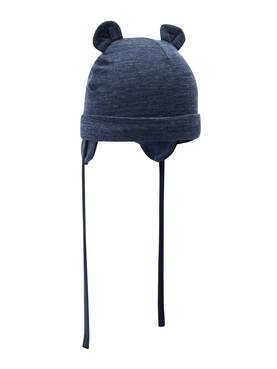 Wuppo wool hat, dress blue -  - name13156853b - 1