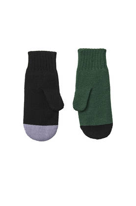 COOL WOOL mittens ADULTS -  - papuaw16213b - 1