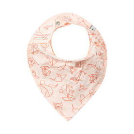 Animal bib, rose -  - pippiss17206b - 1