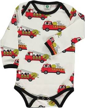 Body with firetruck, cream -  - smafolka181b - 1