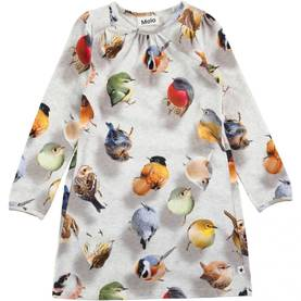 Bouncing Birds dress, Ceria -  - 2W17E239b - 1