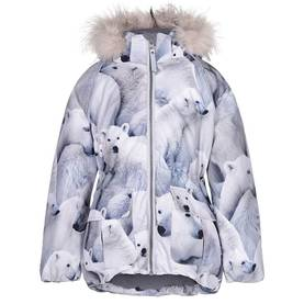 Cathy Fur jacket, Polar Bear -  - 5W18M308b