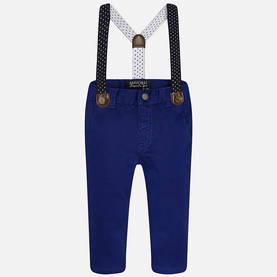 Chino pants with suspenders, star night -  - mayss1725b - 1
