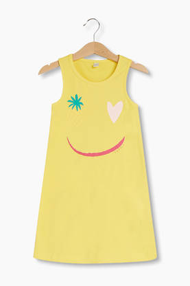 Dress, lemon -  - esprit31053b - 1