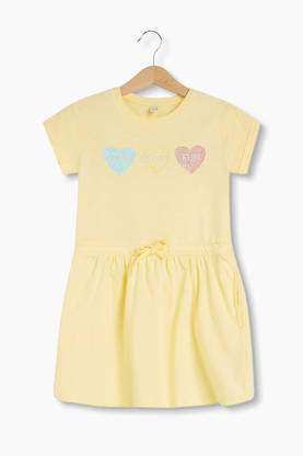 Dress, light yellow -  - esprit30233b - 1