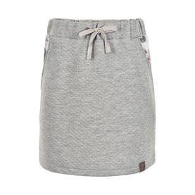 Jelina skirt, light grey melange -  - creamieaw17cb - 1