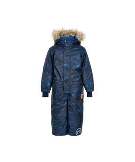 Le 75 snow suit, nautical blue -  - minymoaw17160275b - 1