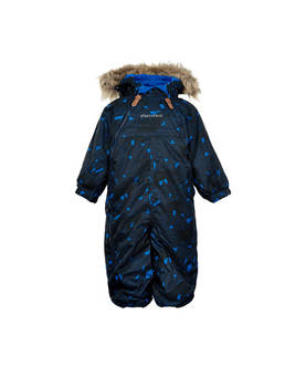 Le 77 snow suit, nautical blue -  - minymoaw17160277b - 1