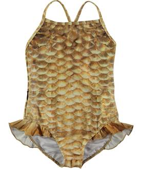 Noona swimsuit, Gold Fishshell -  - 8S17P506b - 1