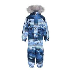 Polaris Fur snowsuit, Arctic land -  - 5W18N203b - 1
