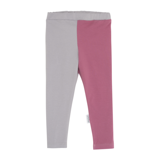 Leggings, GRAY/MAUVE - Legginsit - gugguuaw1703b - 1