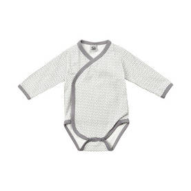 Harlekin wrap-around body, white/grey -  - pippiss17201c - 1