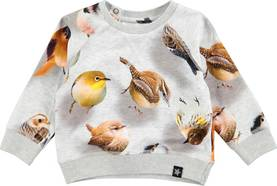 Bouncing Birds shirt, Elsa -  - 4W17A407c - 1